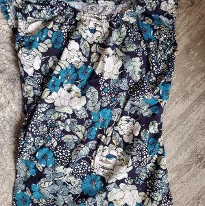 Loft flower shirt